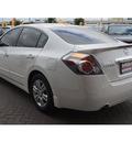 nissan altima 2012 winter frost pearl sedan 2 5 sl 4 cylinders cvt with xtronic 78233
