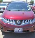 nissan murano 2010 red suv 6 cylinders automatic 79925