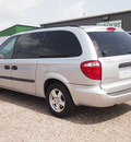dodge grand caravan 2007 silver van se gasoline 6 cylinders front wheel drive automatic 77575
