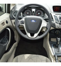 ford fiesta 2012 silver sedan se gasoline 4 cylinders front wheel drive automatic 76234
