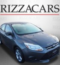 ford focus 2013 gray sedan se flex fuel 4 cylinders front wheel drive automatic with overdrive 60546