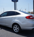 ford fiesta 2012 silver sedan sel gasoline 4 cylinders front wheel drive automatic 77642