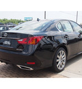 lexus gs 350 2014 black sedan gasoline 6 cylinders rear wheel drive 8 speed 77546