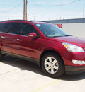 chevrolet traverse 2010 red suv lt gasoline 6 cylinders all whee drive automatic 79110