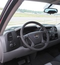 chevrolet silverado 1500 2008 red work truck gasoline 8 cylinders 2 wheel drive automatic 76108