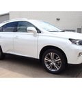 lexus rx 350 2015 white suv 6 cylinders automatic 77074