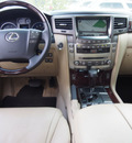 lexus lx 570 2009 white suv gasoline 8 cylinders 4 wheel drive automatic 77074