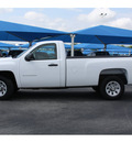 chevrolet silverado 1500 2011 white work truck 8 cylinders automatic 76234