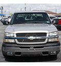 chevrolet silverado 1500 2004 silver pickup truck work truck 8 cylinders automatic 76234