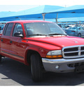 dodge dakota 2004 red pickup truck slt 8 cylinders automatic 76234