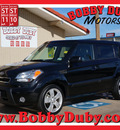kia soul 2010 black hatchback ! gasoline 4 cylinders front wheel drive automatic 79110