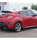 hyundai veloster turbo 2013 red coupe gasoline 4 cylinders front wheel drive manual 79119
