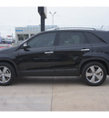 kia sorento 2012 black ex gasoline 6 cylinders front wheel drive automatic 79110