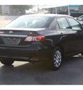 toyota corolla 2013 black sedan le 4 cylinders automatic 76234