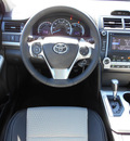 toyota camry 2014 black sedan se gasoline 4 cylinders front wheel drive 6 speed automatic 75569