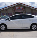 toyota prius 2011 white hybrid 4 cylinders front wheel drive cvt 79110