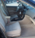 honda accord 2004 black sedan lx gasoline 4 cylinders front wheel drive 5 speed automatic 77539