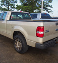 ford f 150 2007 gold xl gasoline 8 cylinders rear wheel drive 4 speed automatic 77539