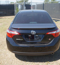 toyota corolla 2015 black sedan s plus gasoline 4 cylinders front wheel drive cvt 76053