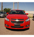 chevrolet cruze 2012 red sedan lt gasoline 4 cylinders front wheel drive automatic 78552