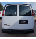 chevrolet express cargo 2015 white van 2500 8 cylinders 6 speed automatic 76051