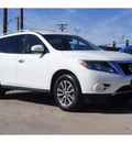 nissan pathfinder 2013 white suv sv gasoline 6 cylinders front wheel drive automatic 79110